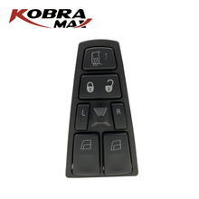 KobraMax Power Window Switch Front Left Door Glass 20752918 Fit for Volvo VNL Car Accessories