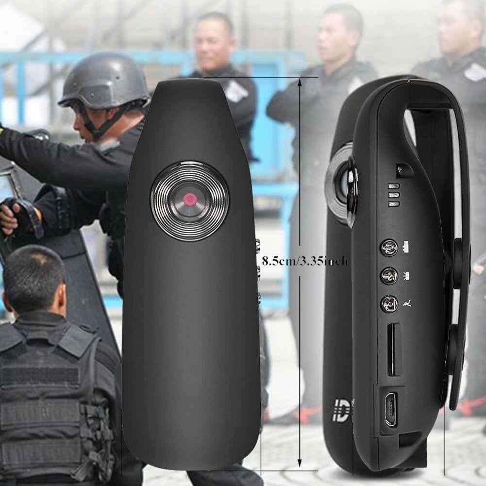 EastVita HD 1080P 130 degree Mini Camcorder Dash Cam Police Body Motorcycle Bike Motion Camera US PLUG r20