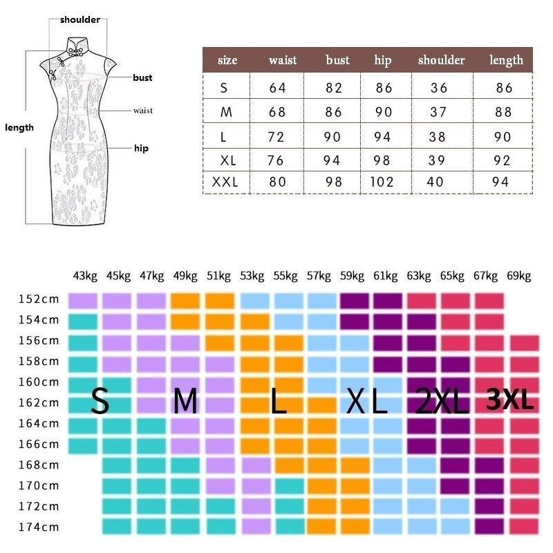 Image 5 - SHENG COCO Sexy Black Chinese Style Qipao Dresses Slim Thin Lace Cheongsam Summer Fashion Improvement Vintage ChipaoCheongsams   -