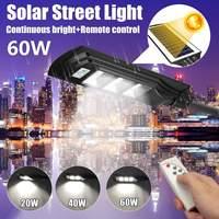 20-90 ワットソーラーパワー Led ウォール街路灯照明防水リモコン搭載屋外中庭照明