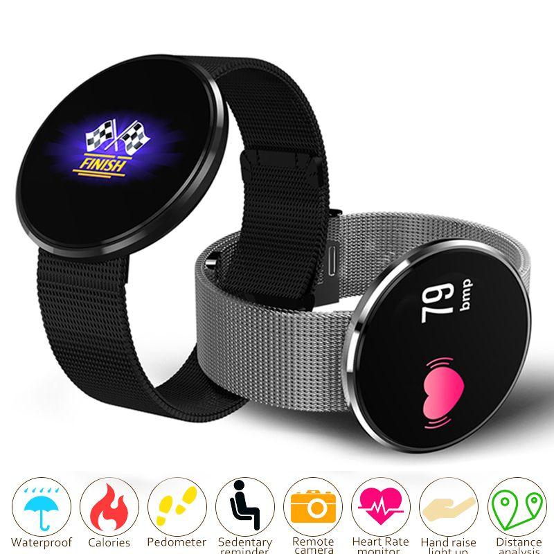 Unisex Smart Watch Women Men Blood Oxygen Pressure Heart Rate Monitor Pedometer App bluetooth Smart Sport