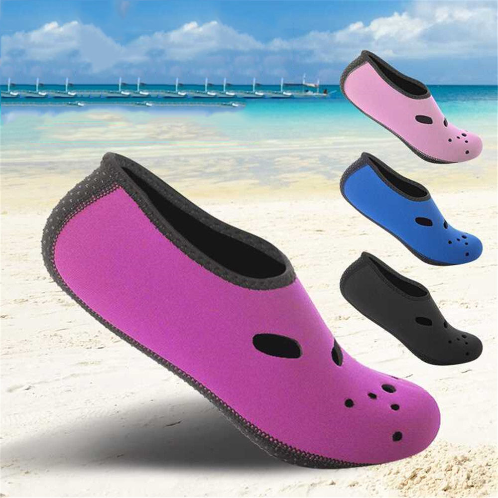 76d091330 Beach Shoes Quick Dry Non-slip Diving Socks Swimming Pool Surfing Snorkeling  Sock Swimming Fins