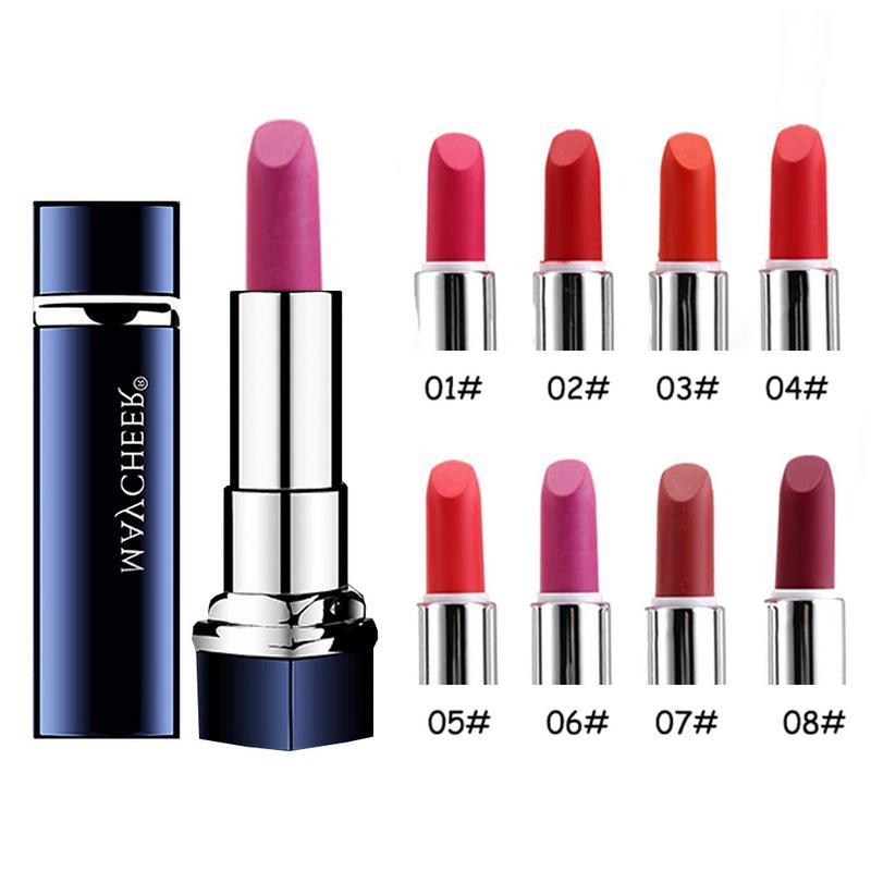 Velvet Matte Nude Lipstick Waterproof Long Lasting Moisturizing Lip Gloss Lipstick Make Up Beauty Cosmetic Lip Balm Lipstick