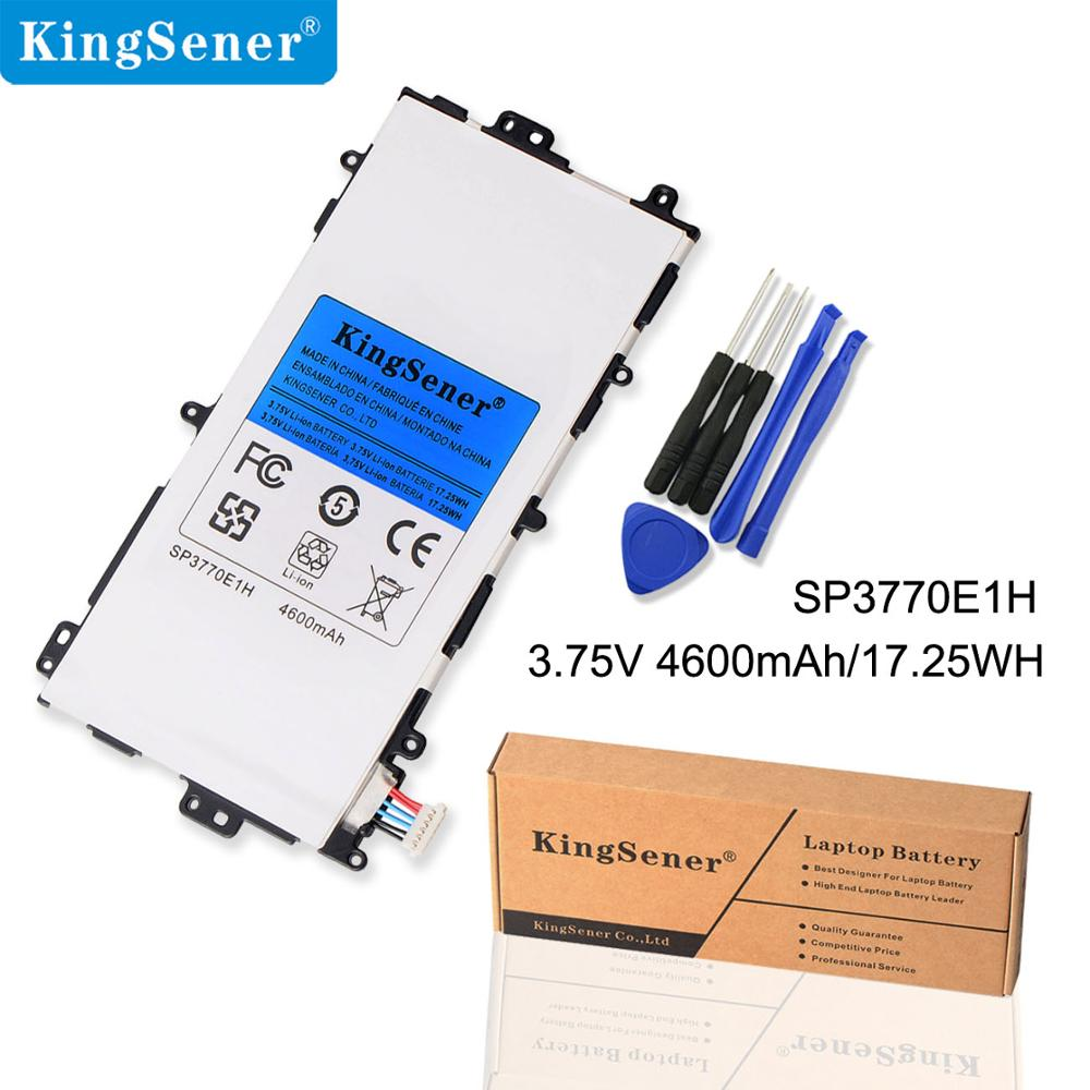 Kingsener SP3770E1H Tablet סוללה N5100 N5120 עבור Samsung Galaxy Note 8.0 8 3G GT-N5100 GT-N5110 Tablet סוללות