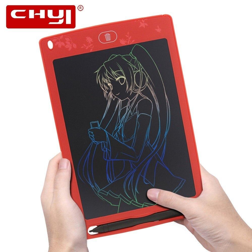 Chyi 8,5 Inch Lcd Schreiben Tablet Digitale Handschrift Pad Kunst Bunte Elektronische Zeichnung Bord Flip Diagramm Memo Hinweis Pads Für Kid Flipchart