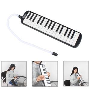 IRIN المحمولة 32 مفتاح Melodica ABS الهندسة الراتنج Melodica طالب هارمونيكا مع حقيبة لعشاق الموسيقى