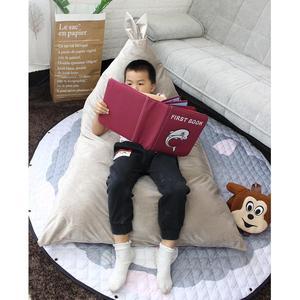 Image 4 - Adeeing Trẻ Em Thoải Mái Tai Thỏ Thiết Kế Đậu Túi Đồ Chơi Lưu Trữ Đọc Ngủ