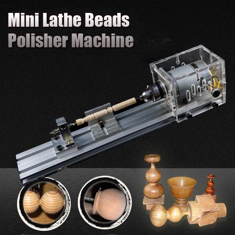 24V 80W DIY Mini lathe machine tools DIY Woodworking Buddha Pearl Grinding Polishing Beads Wood lathe Drill Tool24V 80W DIY Mini lathe machine tools DIY Woodworking Buddha Pearl Grinding Polishing Beads Wood lathe Drill Tool