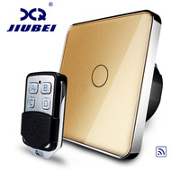 Free Shipping Jiubei EU Standard Remote Switch, 220~250V Wall Light Remote Touch Switch,switch touch, C701R 13&RMT01