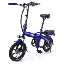 E Bike Scooter Two Wheels Electric Bicycle Brushless Motor 250W 48V Folding Smart Two Wheels Electric Scooter For Adult