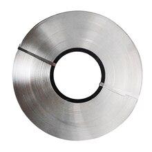Новая лента из чистого никеля для литиевой 18650 аккумуляторной точечной сварки, совместимая с точечной сварочной машиной 0,1x5 мм 2 м