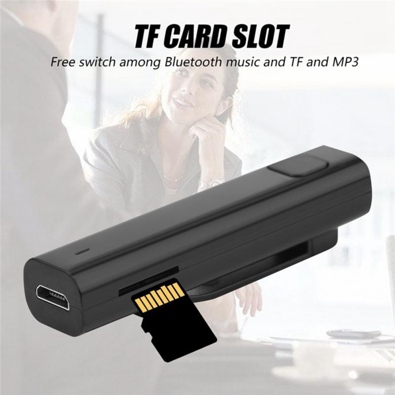 Bluetooth Receiver Smart Headphone Voice Translator 26Multi-language Business Travel TF Card Voice Text Interpreter Earphone #20