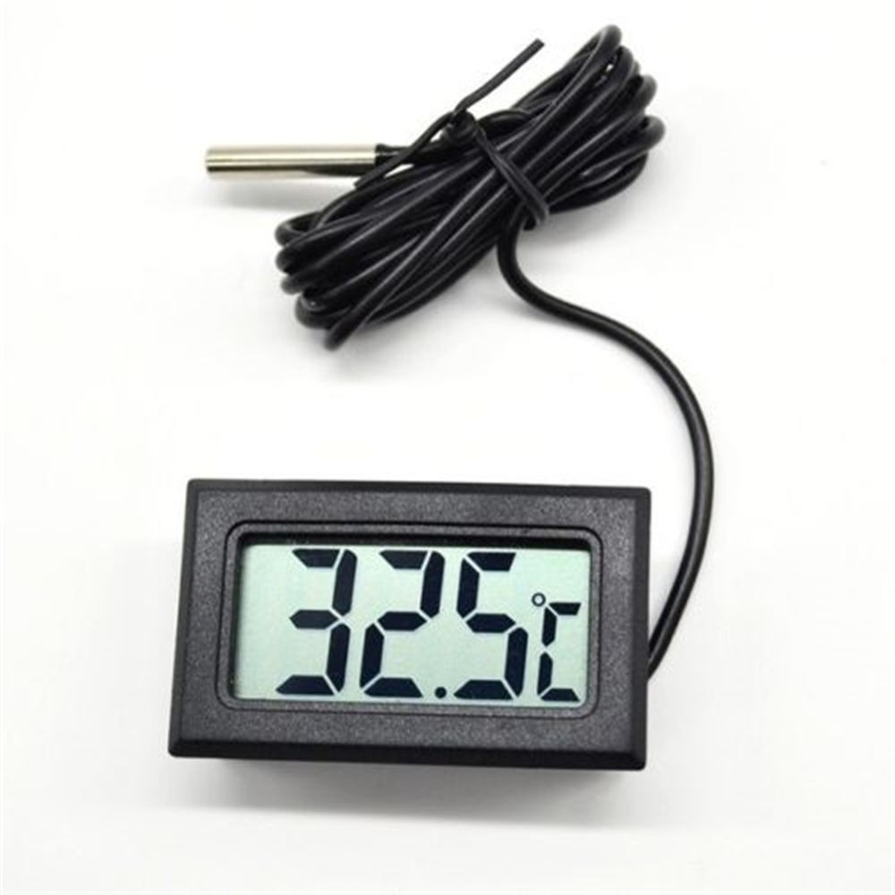 New Digital LCD Display Water Thermometer Gauge For Probe Temperature Aquarium Tank Pool Refrigerator Home Thermometer