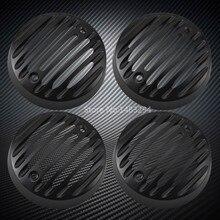 Neue 2 x Paar Schwarz Legierung Blinker Trim Grills Caps Fit Für Royal Enfield Klassische 500 Serises Modelle