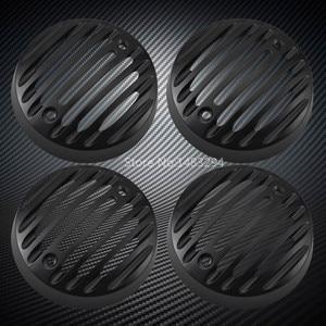 Image 1 - Nuovo 2 x Coppia In Lega Nero segnale di girata Luci Trim Griglie Caps Misura Per Royal Enfield Classic 500 Modelli di Serises