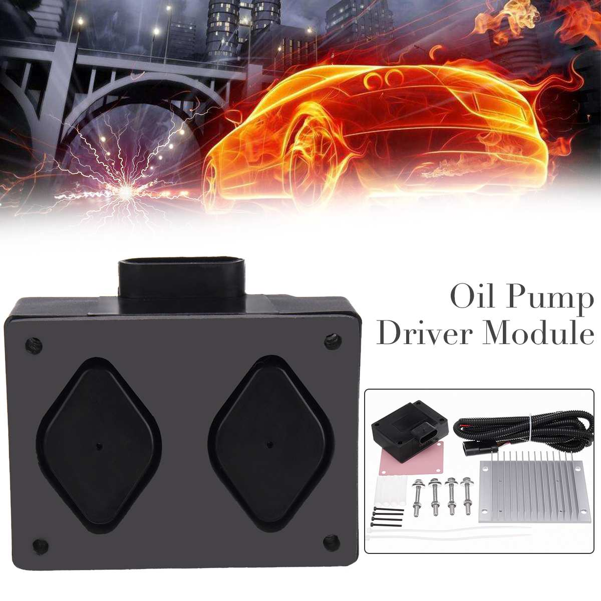 Fuel Pump Driver Module PMD and Relocation Kit for Chevy GMC 6.5L Diesel V8