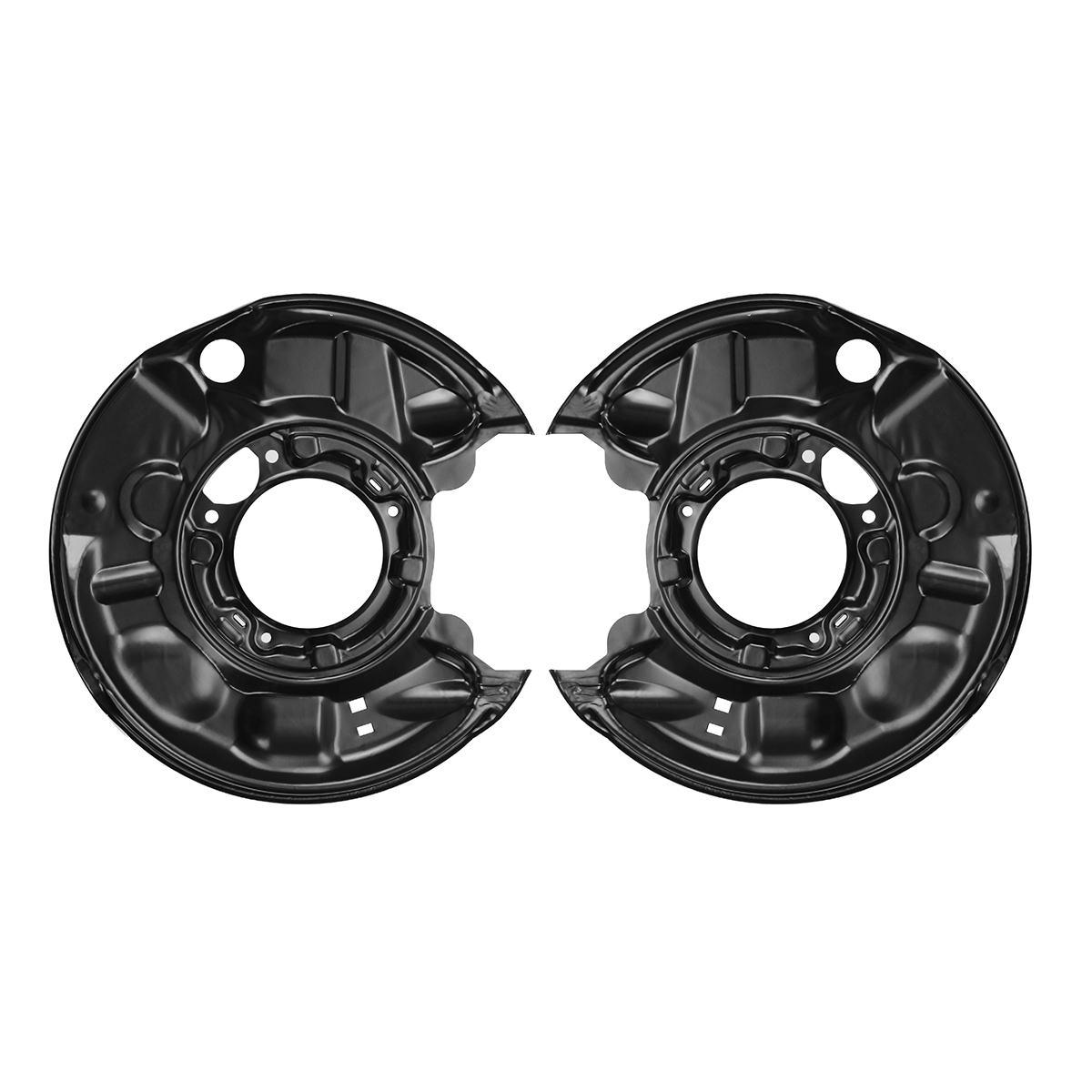 2 pièces Nouveau Arrière disque de frein Bouclier Pour Mercedes C-Classe W203 CLK 209 SLK 171 etrier de frein et Frein Esclave