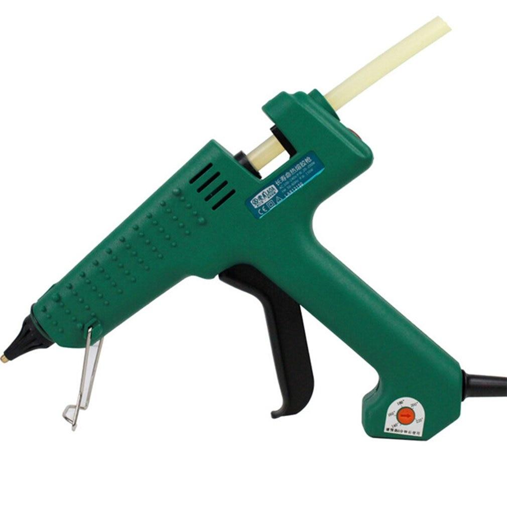 Power Tools Spirited La813150 150w Thermoregulation Hot Melt Glue Gun For Metal/wood/ceramic Glass Working Glue Stick Industrial Mini Guns Comfortable Feel