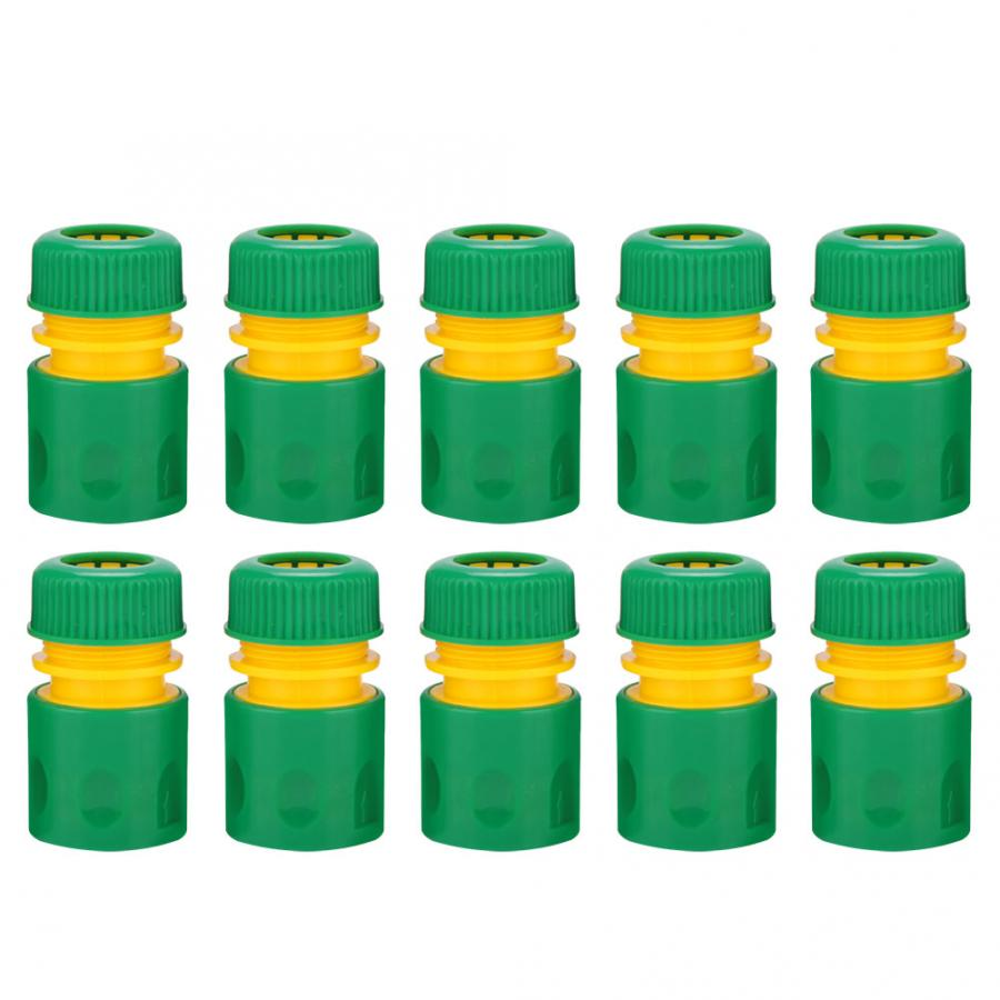 """10Pcs 1 2 Garden Tap Water Hose Pipe Quick Connectors Irrigations Thread Joint System Garden Accessories 10Pcs 1/2"""" Garden Tap Water Hose Pipe Quick Connectors Irrigations Thread Joint System Garden Accessories"""