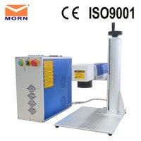 CNC MORN 20 watt fiber laser marking machine portable mini laser metal engraving machine