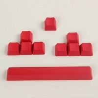 10 chaves/set Não impresso PBT Keycaps ESC WASD Direção Espaço Cap Altura OEM teclado Mecânico Chave Tecla Caps