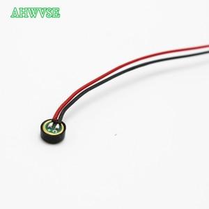 Image 5 - 1pc mini mic monitor de som áudio captador dispositivo de alta sensibilidade microfone minúsculo para cctv câmera de segurança cctv microfone
