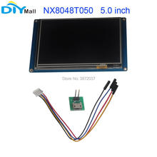 Nextion 5.0 TFT 800x480 NX8048T050 HMI Resistive Touch Screen UART Smart Display Module for Arduino Raspberry Pi ESP8266 nextion 4 3 tft 480x272 nx4827t043 hmi resistive touch screen uart smart display module for arduino raspberry pi esp8266
