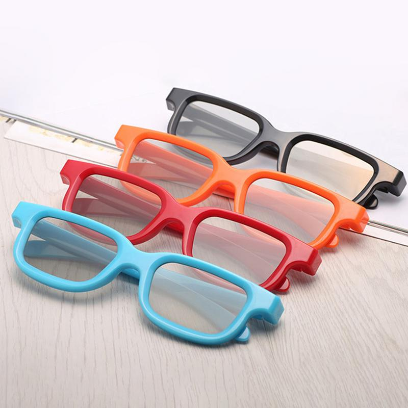 f324675fc1 New 3D Movie Glasses Universal New Plastic Polarized Non-Flash-Type Theater  Dedicated For Movie Game DVD Gift