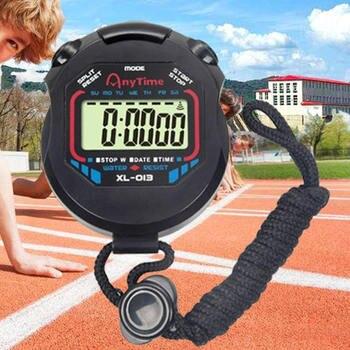 69f954371fe6 LCD cronómetro Digital impermeable profesional de cronómetro cronógrafo  temporizador contra deportes alarma