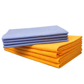 8pcs Kitchen Towel Non-woven Shamwow Absorbent Dish Cloth Anti-grease Washing Cleaning Rags for Home and Kitchen Car Wiper