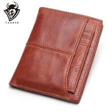 2017 New Wallet Genuine Leather Men Wallets Stitching Style With Detachable Credit Card Holder Purses Carteira Masculina цены