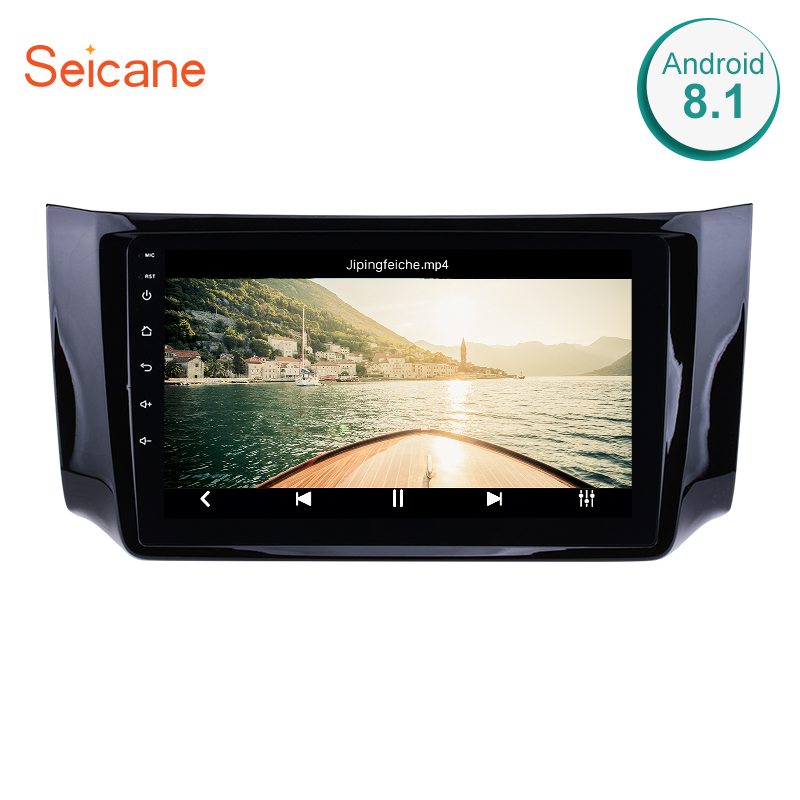 Seicane Android 7.1/8.1 9 Inch Car Mulitimedia Player For 2012-2016 NISSAN SYLPHY GPS Navigation Support Steering Wheel Control