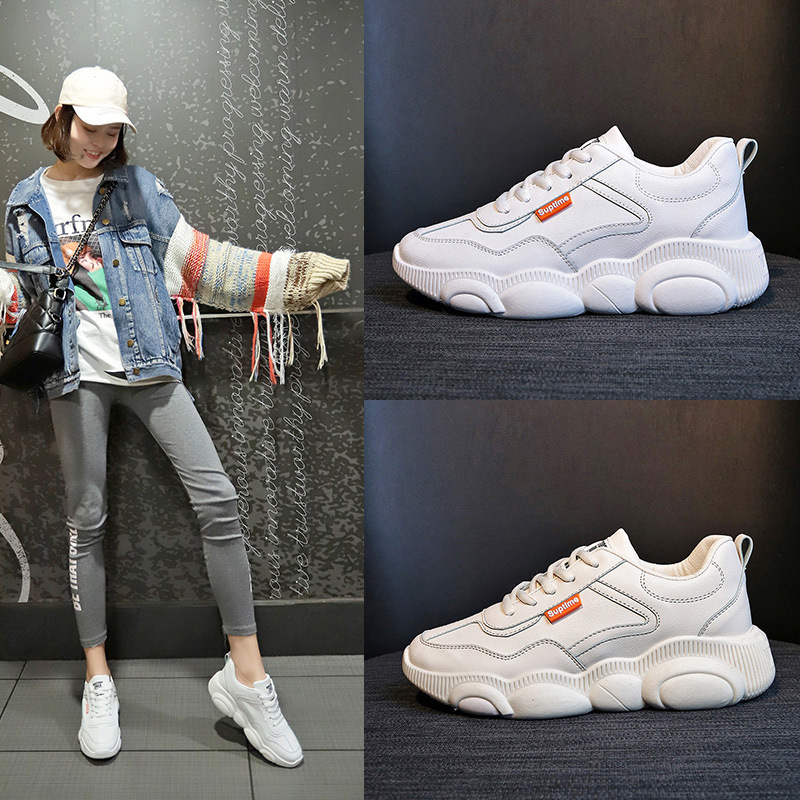 Little Bear Shoe Woman 2019 Spring New Pattern All-match. Sneakers Schoolgirl Ulzzang Original Old Small White Shoes WomanLittle Bear Shoe Woman 2019 Spring New Pattern All-match. Sneakers Schoolgirl Ulzzang Original Old Small White Shoes Woman