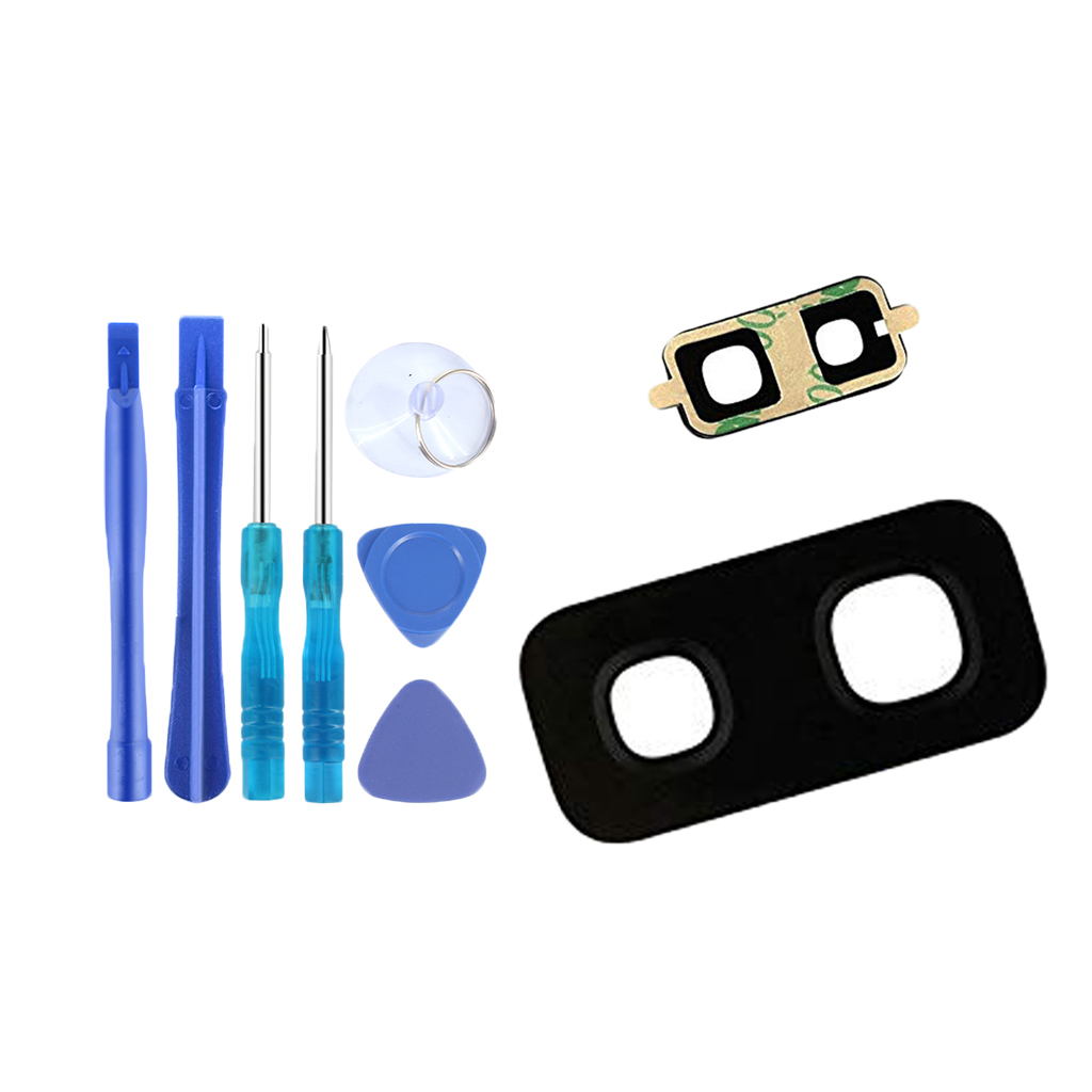For Samsung S9Plus Replacement Camera Lens Cover Glass With Tools