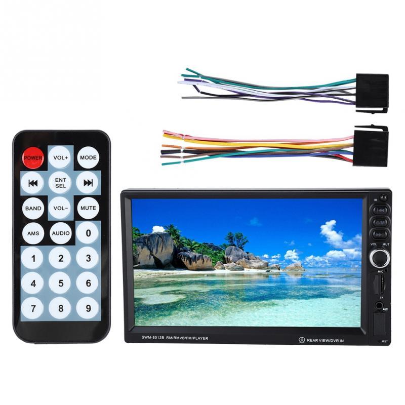 Unterhaltungselektronik Kraftvoll Neue 7-zoll Hd Mp5-8012b Auto Bluetooth Mp5 Mp3 Player Touch Screen Auto Multimedia