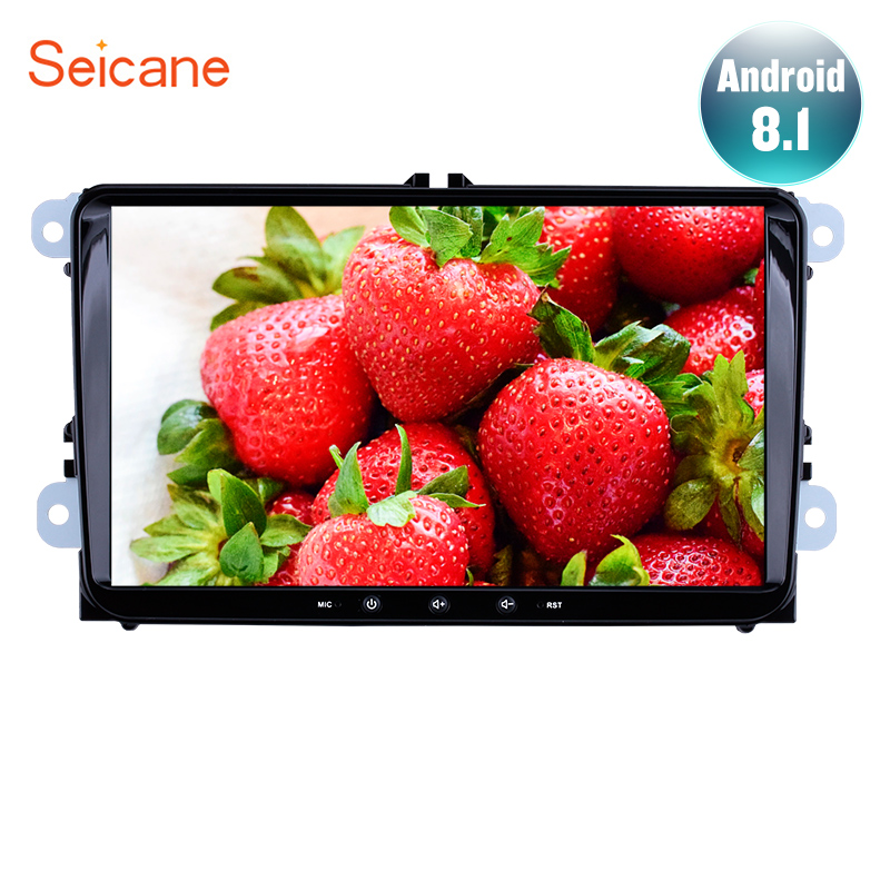Seicane 9 Android 8 1 2DIN 1 16GB Car GPS radio Navi Unit Player for Seat