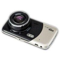 4 Inch Lcd IPS Dual Lens Car Dash Cam FHD 1080P Dashboard Camera 170 Driving DVR