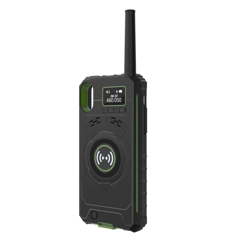 2018 multifunctional wireless handheld walkie talkie protective case mobile power bank for. Black Bedroom Furniture Sets. Home Design Ideas