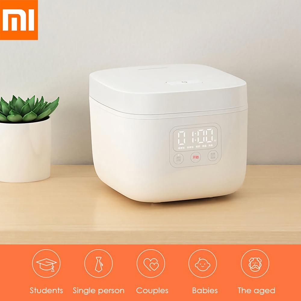 Xiaomi Mijia 1.6L cuiseur à riz électrique affichage de LED cuisine Portable Mini cuiseur petite Machine de cuisson de riz rendez-vous Intelligent