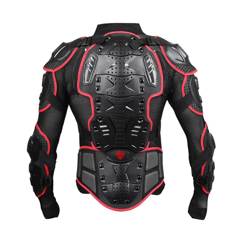 Unisexe Moto armure Protection Motocross vêtements veste protecteur Moto croix arrière armure de Protection - 6