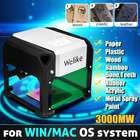 3000MW Desktop Laser Engraving Machine USB DIY Laser Engraver Printer CNC Laser Carving Machine For WIN/Mac OS System