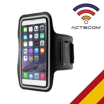 ACTECOM Funda de protección de brazo para teléfono móvil, soporte de brazalete...