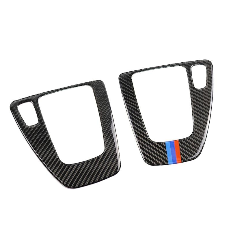 Image 3 - Для BMW 3 серии E90 E92 E93 2005 2006 2007 2008 2009 2010 2011 2012 углеродного волокна Шестерни управление переключением передач Панель крышка LHD/RHD-in Лепнина для интерьера from Автомобили и мотоциклы