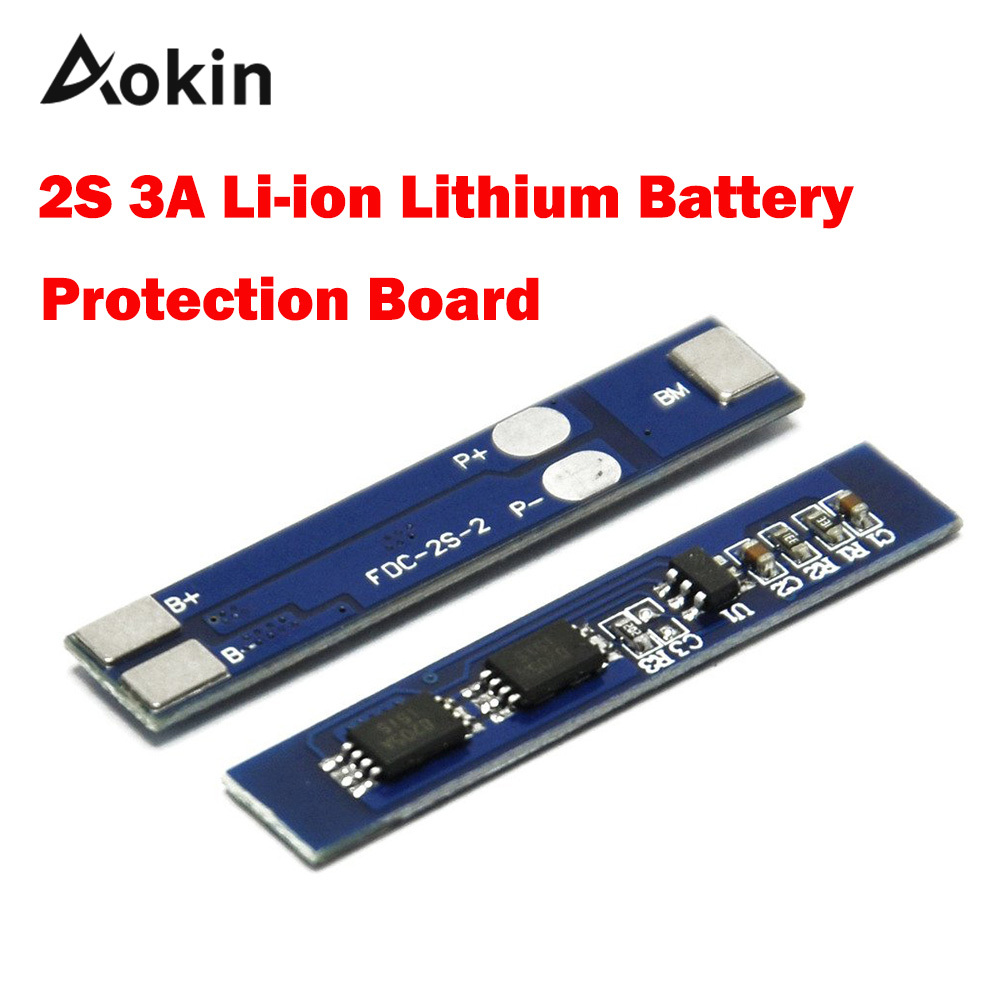 2S 3A Li-ion Lithium Battery 7.4 8.4V 18650 Charger Protection Board BMS PCM For Li-ion Lipo Battery Cell Pack For Diy Kit Aokin