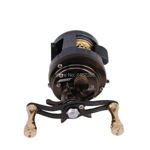 Image 4 - WOEN JKS150 All metal drum wheel 11+1BB Road sub Water droplets wheel Micro object Fishing reel