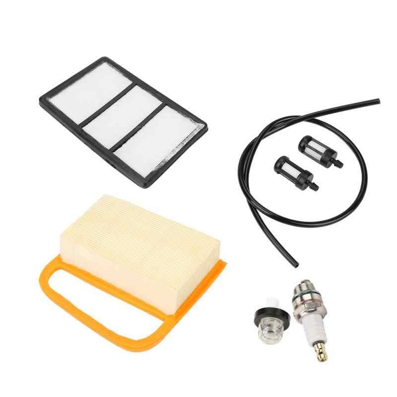 Service Kit Air Filter Fuel Filter Primer Bulb & Plug for Stihl TS410 TS420 Cut Off Saw Hardware Tools