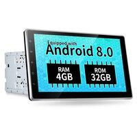 ZEEPIN KD 2000 Автомобильный мультимедийный плеер Автомобильный головное устройство 10,1 дюймовый универсальный развлекательный gps 4 г WiFi Bluetooth