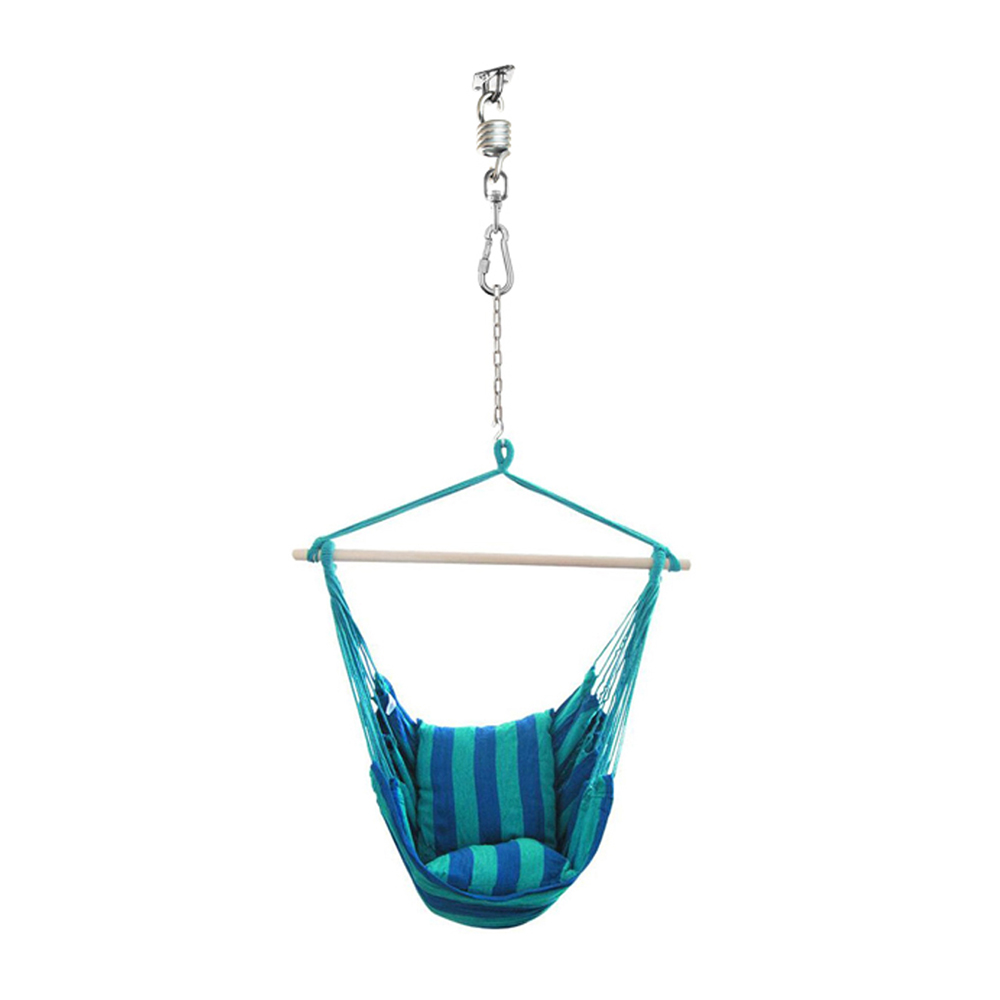 Outdoor Hammock Chair Hanging Accessories Kit 660LB Capacity Hammock Spring Swivel Hook and Ceiling Swinging Chairs Mount in Outdoor Tools from Sports Entertainment