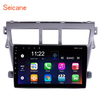Seicane 2din Car Multimedia Player For 2007 2008 2009 2010 2011 2012 Toyota VIOS Android 8.1/7.1 GPS Navigation Support RDS TPM