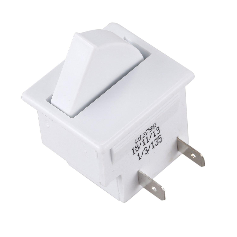 Hot Sale Refrigerator Door Lamp Light Switch Replacement Fridge Part Kitchen 5A 125VHot Sale Refrigerator Door Lamp Light Switch Replacement Fridge Part Kitchen 5A 125V